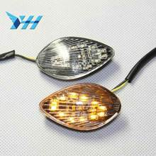 Motorcycle Parts Euro LED Flush Mount Turn Signal for Honda CBR 1000 RR CBR1000RR 2004 2005 Clear