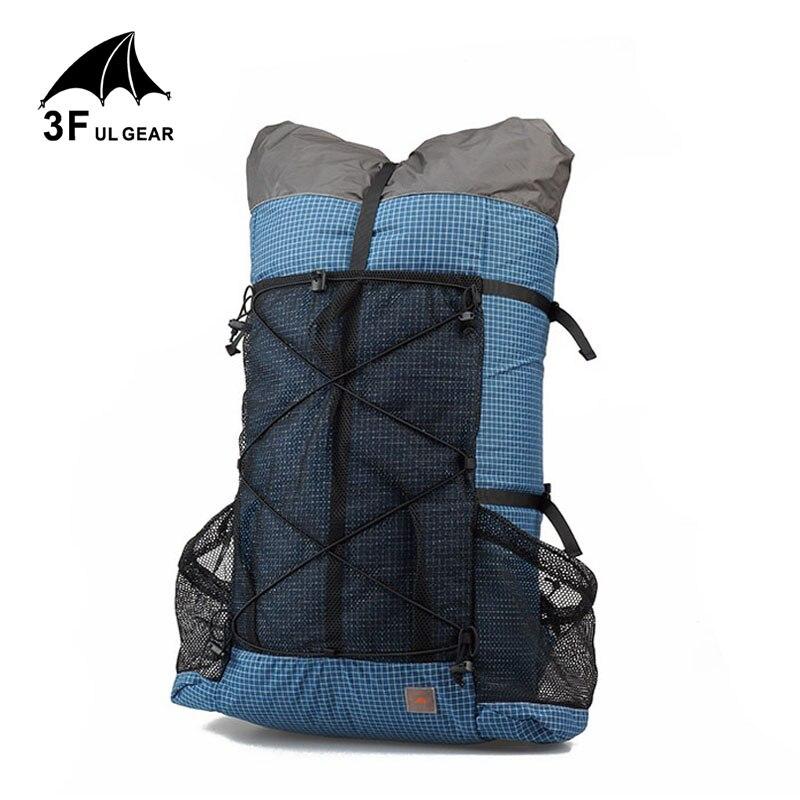 3F UL GEAR backpack Outdoor Camping travel hiking rucksack lightweight Frameless Trekking Packs 26L 38L in Climbing Bags from Sports Entertainment