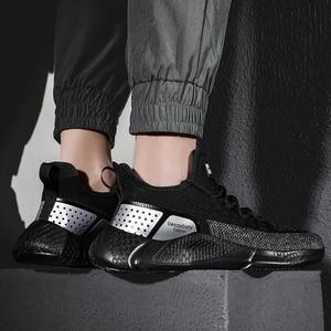 Image 5 - CYYTL Fashion Men comfort Shoes Summer Breathable Sport Sneakers Lightweight Casual Mesh Male Walking Shoe Sportschoenen Heren