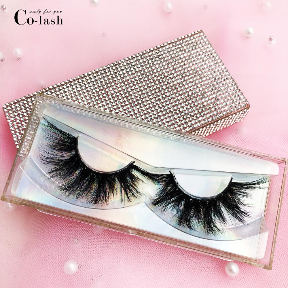 Colash Diamond False Eyelash Packaging Box Custom Logo Fake 3d Mink Eyelashes Boxes Faux Cils Lash Strip Case Empty