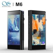 Shanling M6 Dual AK4495SEQ z systemem Android zrównoważony przenośny odtwarzacz muzyki MP3 octa core Snapdragon 430CPU 4GB RAM DSD25 2.5/3.5/4.4mm