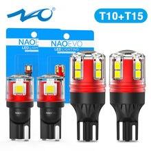 Krajowy urzędnik zatwierdzający T10 W5W LED samochodów W16W T15 T16 5W5 12V 24V 921 912 zapasowe żarówki 6000K biały Super jasne 194 168 Auto lampka tablicy rejestracyjnej