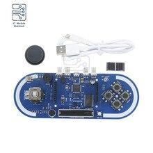 Atmega32u4 Esplora Game Program Module Joystick Microcontroller Temperature Light Sensor Board For Arduino IDE Oscillator+ Cable