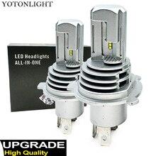 Yaxial Light Mini H4 Led Hi/Lo H7 Led faro H11 H1 lampadina auto 9005 hb3 9006 hb4 H8 H9 aggiornamento lampada 55w 12000lm fendinebbia 6500K