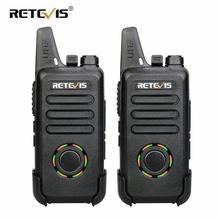 RETEVIS RT22S 핸즈프리 워키 토키 2pcs RT22 업그레이드 VOX 숨겨진 디스플레이 양방향 라디오 트랜시버 워키 토키 여행/캠프