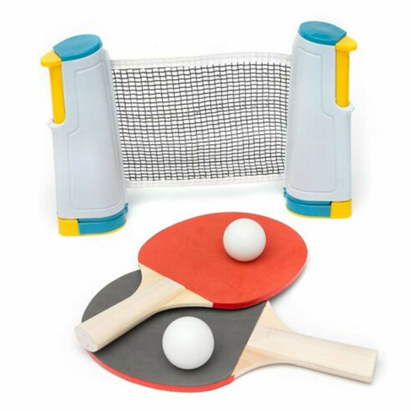Table Tennis Net Portable Removable Rack Portable Retractable Ping Pong Post Net For Any Tables Sports Tools Accessories