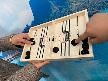 Juego interactivo de ajedrez catapulta para padres e hijos Misa de sobremesa...