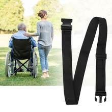 Harnais de sécurité antidérapant pour fauteuil roulant, sangle de fixation pour personnes âgées, Protection personnelle, soins de santé