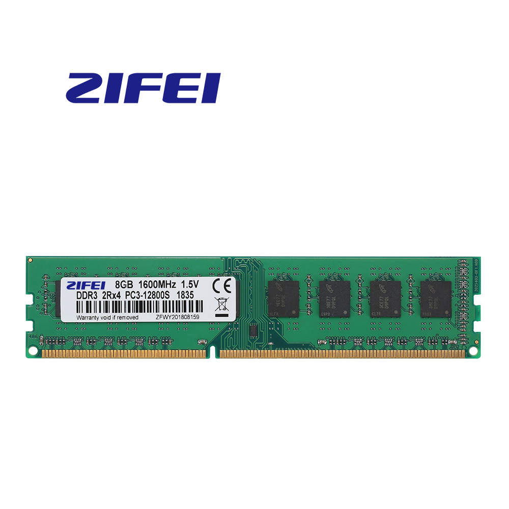 DDR3 RAM 8GB 1600MHZ/1333MHZ 240PIN 1.5V 2R*4 Double model UDIMM NON-ECC desktop Memory for AMD AM3/AM3+/FM1/FM2 motherboard image