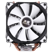 Снеговик 4PIN кулер для процессора 6 тепловых труб двойные вентиляторы охлаждения 12 см вентилятор LGA775 1151 115x1366 Поддержка Intel AMD