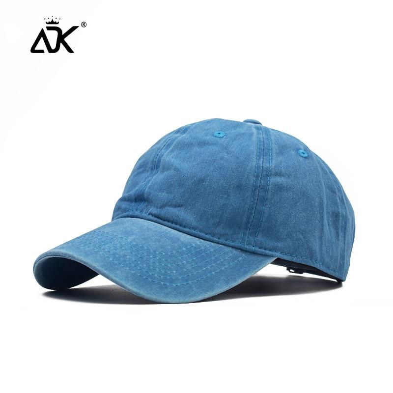 Summer Denim Cotton Baseball Caps Parent-Child Washed Simple Hat Men Snapback Caps Women Sun Hats Adjustable Unisex Caps
