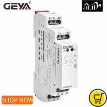 GEYA GRM8 Latching Relay Memory Relay SPDT 16A Step Relay AC230V OR AC/DC12 240V Impulse Relay 12V