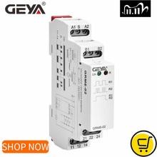 GEYA GRM8 래칭 릴레이 메모리 릴레이 SPDT 16A 스텝 릴레이 AC230V 또는 AC/DC12 240V 임펄스 릴레이 12V