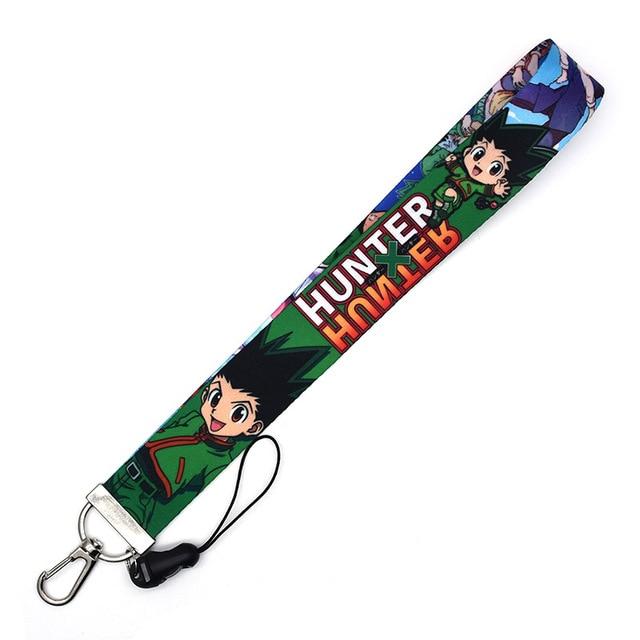 Hunter X Hunter Keychain ID Badge Holder Lanyard NWOT