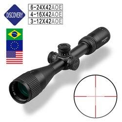 Escopos de descoberta de campo baratos iluminados VT-R 3-12x42 aoe 4-16 6-24 foco de objeto super efeito de parede fina grande campo de visão