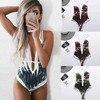 2021 Women's Sexy Bikini Beach Swimsuit Monokini Push Up 1