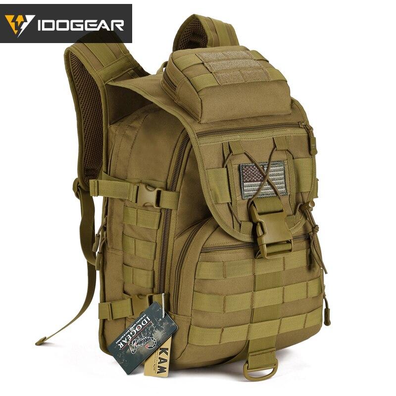 IDOGEAR X7 sac à dos militaire sacs tactiques Molle résistant à l'eau tactique sac à dos Sports de plein air randonnée Camping