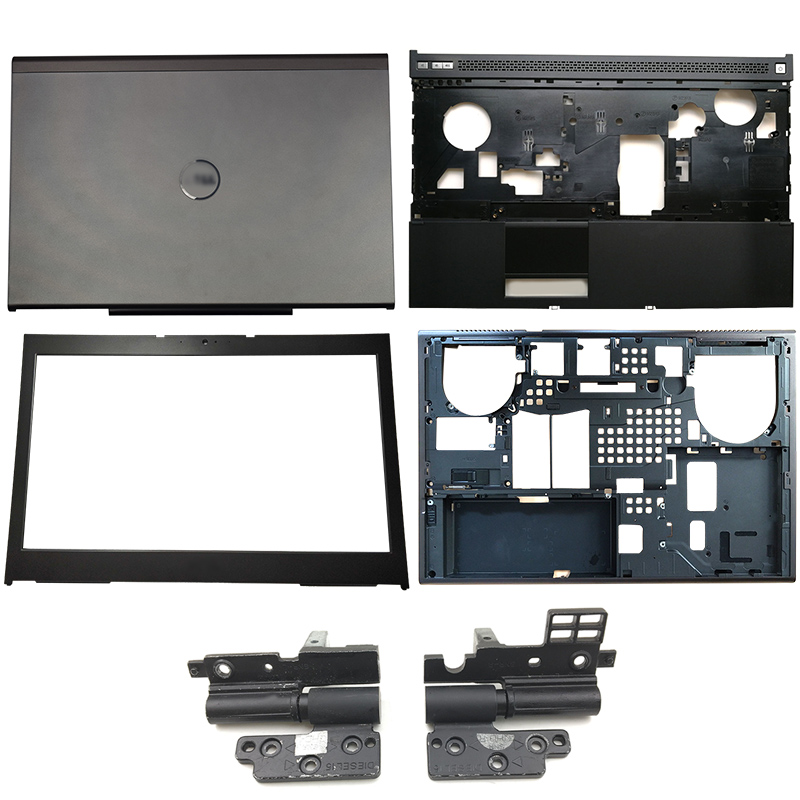 NEW Laptop LCD Back Cover/Front Bezel/Hinges/Palmrest/Bottom Case For Dell Precision M4800 0Y32M 0FT2YX 07M7FM 0TVPD6