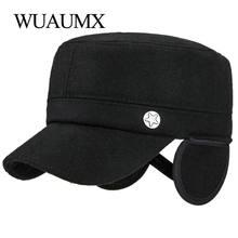Wuaumx осенне зимние военные шапки для мужчин сохраняющие Тепло
