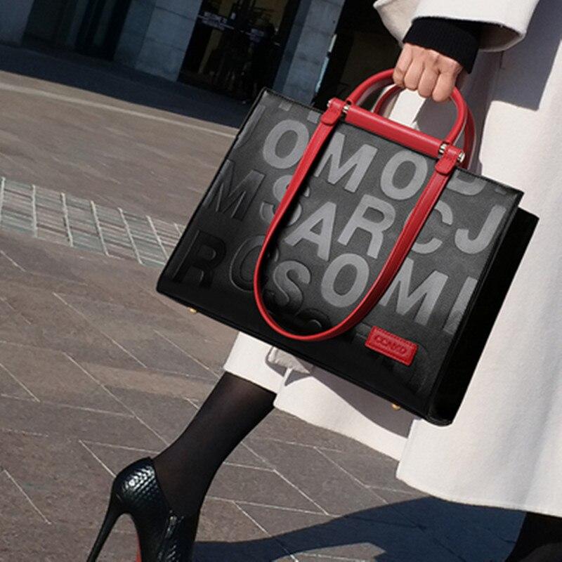 Bolsas de Couro Retro em Relevo Bolsa de Ombro Nova Moda Feminina Grande Totes Bolsa Couro Senhoras