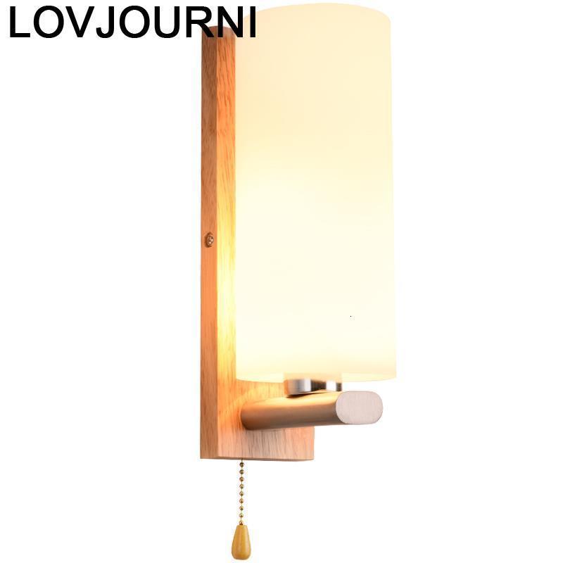 Lampara Pared Mirror Vanity Applique Coiffeuse Avec Miroir Home Deco Lampe Murale Lamp Wandlamp Bedroom Luminaire Led Wall Light
