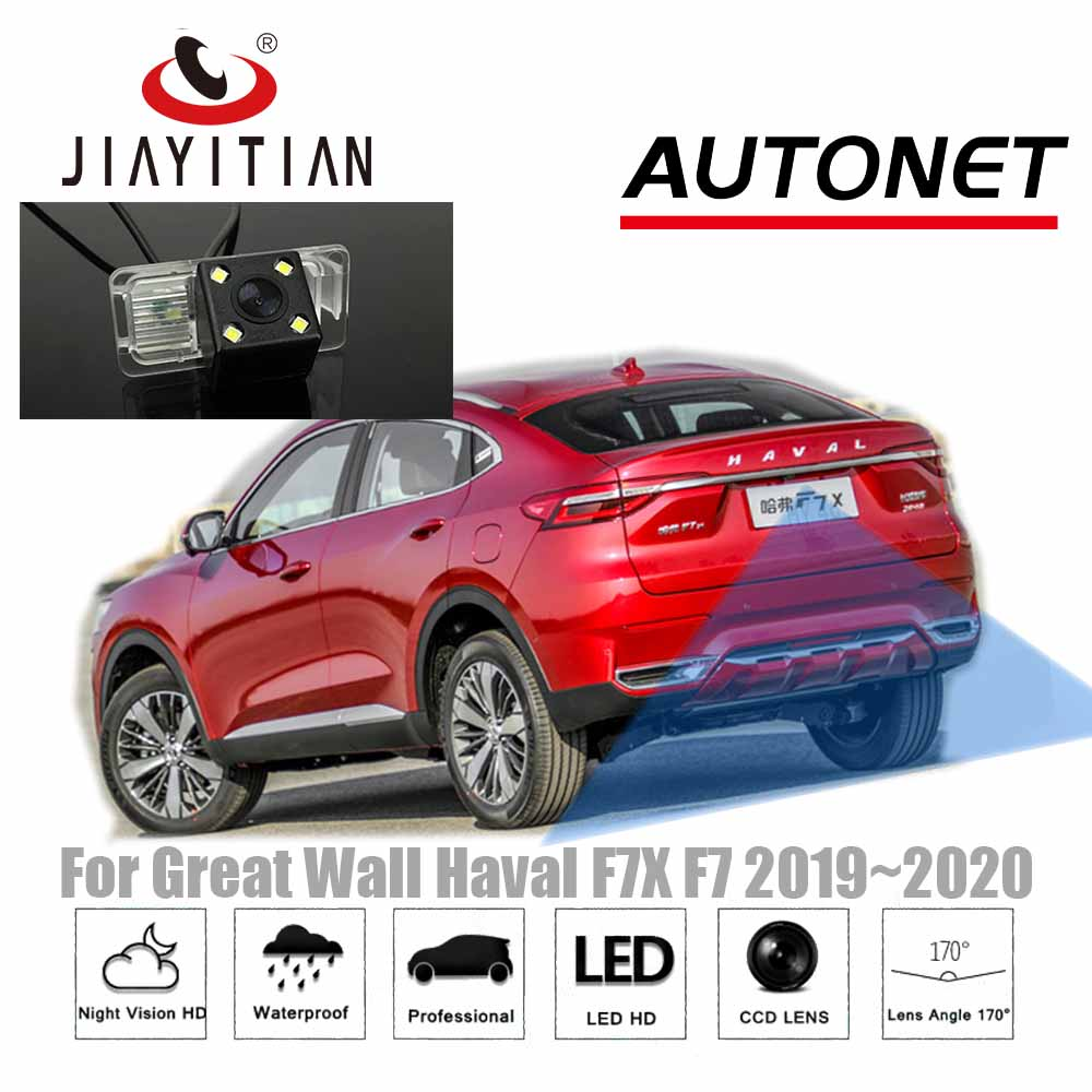 JIAYITIAN Rear Camera For Great Wall Haval F7X F7 2019 2020 CCD/Night Vision/backup Camera/Parking Camera Reverse