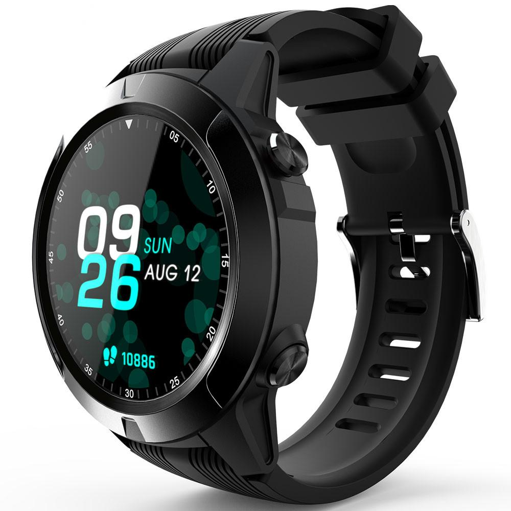 H4ab6a2d744e74a78a1a0a85e55f5a9e12 2020 Built-in GPS Smart Watch GSM bluetooth Call Phone Air Pressure Heart Rate Blood Pressure Weather Monitor Sport Smartwatch