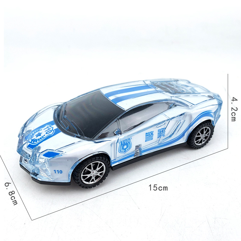 Baby Electric Toys Police Car Children Light And Sound Universal Wheel Police Car Boy Toy Car 1-3 Years Old