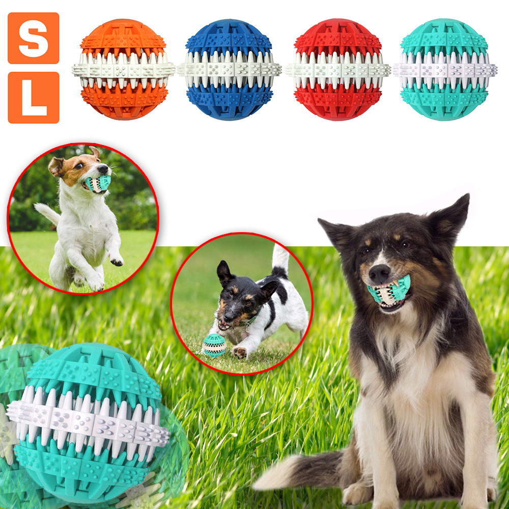 Dog Training Ball Pet leaking ball toys Chew Toys Tumbler Toy Food Dispenser D35