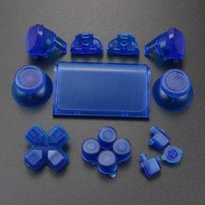Image 5 - YuXi 풀 세트 조이스틱 Dpad R1 L1 R2 L2 방향 키 ABXY 버튼 jds 040 jds 040 Sony PS4 Pro 슬림 컨트롤러 용