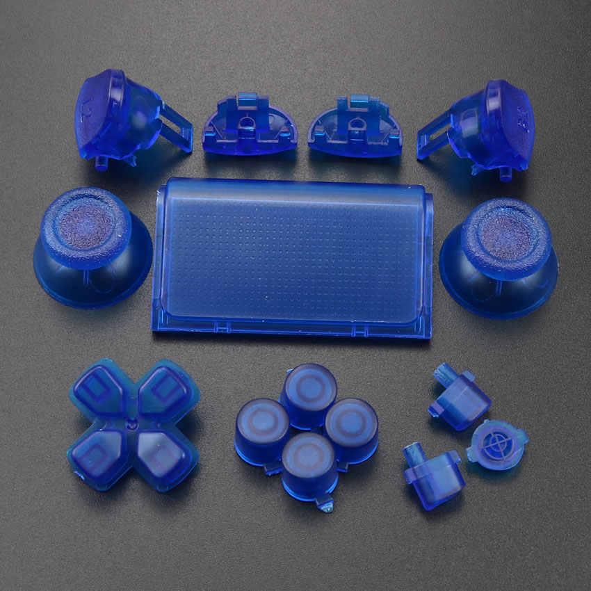 玉渓フルセットジョイスティックdpad R1 L1 R2 L2 方向キーabxyボタンjds 040 jds-040 ソニーPS4 プロスリムコントローラ