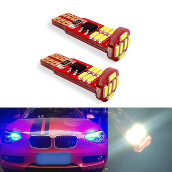 2x T10 W5W Canbus LED Car Interior Parking Lights For BMW E46 E39 E91 E92 E93 E28 E61 F11 E63 E64 E84 E83 F25 E70 E53 E71 E60 image