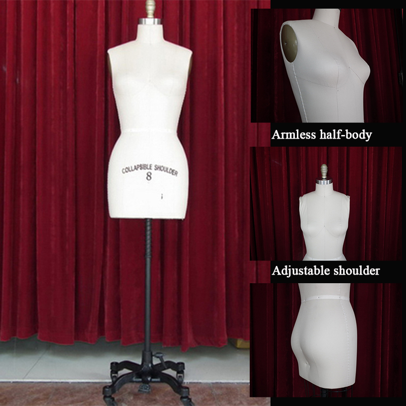 EMT-HBF001W Adjustable shoulder sewing mannequin_