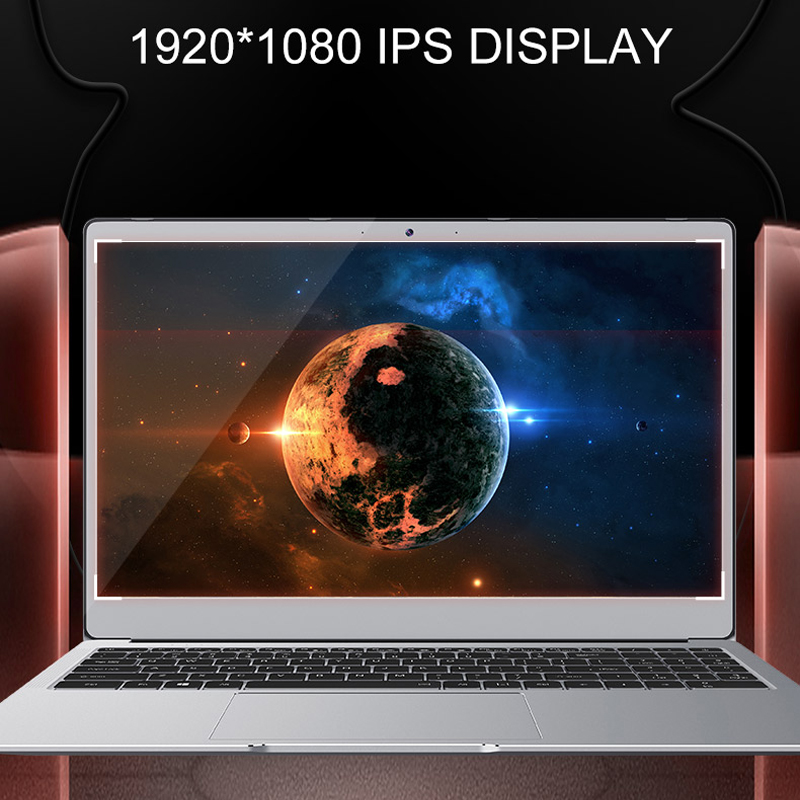 Laptop 15.6 inch With 8G RAM 128G/256G/512G/1TB SSD Notebook Computer Laptops With 1920*1080 Display RJ-45-2