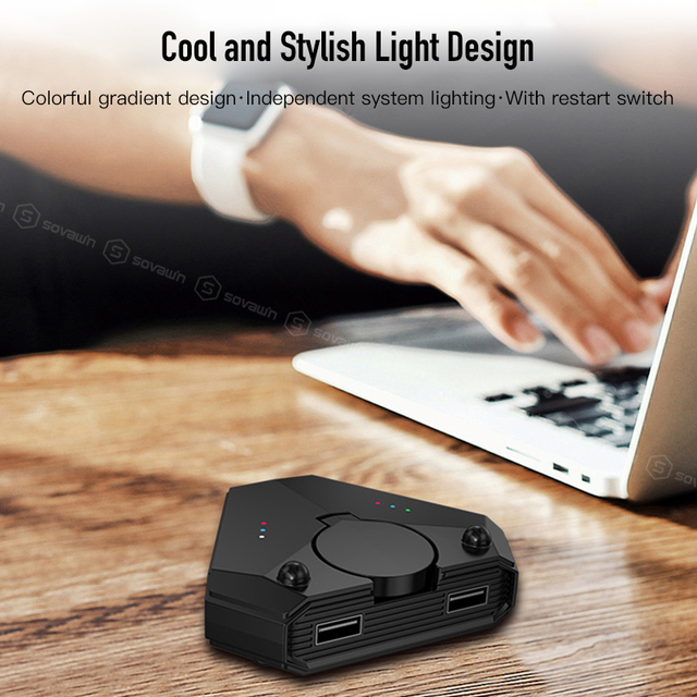 For Call of Duty Mobile Pubg Controller Bluetooth Gamepad Android Gaming Keyboard Mouse Converter Set For iPhone to PC Adapter