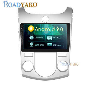 9'' Android Car Radio For KIA Cerato Auto Manuel  2010- 2017 Stereo Car panel Navigation GPS Multimedia player 2 Din Autoradio