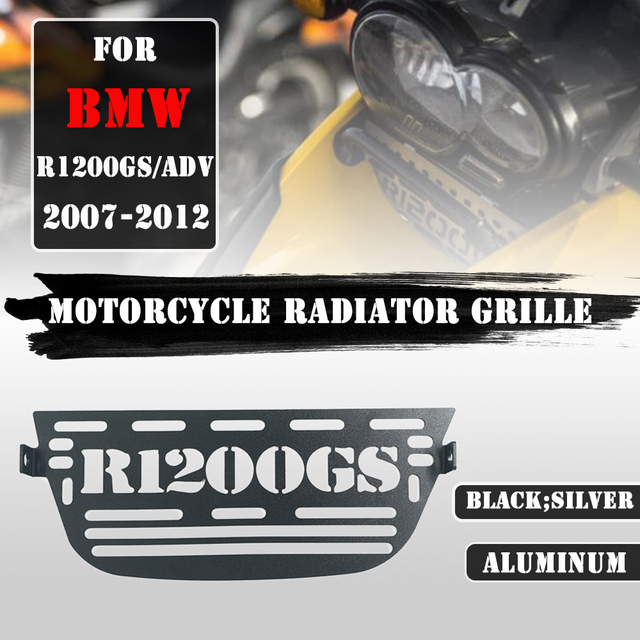 For BMW R1200GS gs1200 R 1200 GS R 1200GS 2007 2012 Adventure ADV Motorcycle Radiator Grille Guard Radiator Cover Cooler Grill