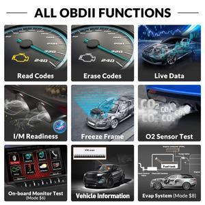 Image 2 - Ediag YA101 OBD2車診断ツールobdii自動スキャナーチェックエンジンライトグラフデータストリームpk ELM327 CR3001 AS100コードリーダー
