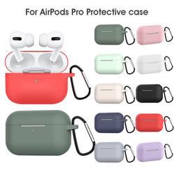 Мягкий силиконовый чехол для AirPods Защитная крышка рукав Цветной корпус для iPhone Air Pods беспроводные наушники коробка аксессуары