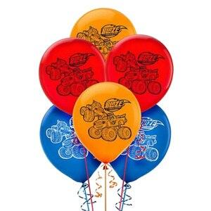 Image 1 - 12 inç 12 adet/grup Blaze canavar lateks balon Globos doğum günü partisi malzemeleri dekorasyon çocuk oyuncakları