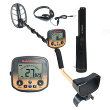 Depth Gold Metal Detector Professional FS2 Deep Search Underground Super Finder Pinpoint LCD Backlight Display Iron Rejection