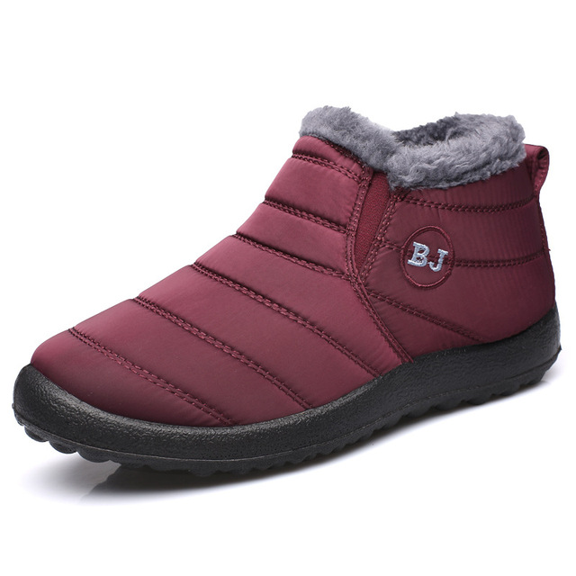 Женские зимние лёгкие и тёплые ботинки  3