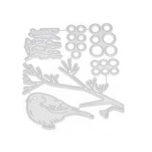 Snow Fruit Tree Branch Bird Metal Cutting Dies Scrapbooking Stencil Die Cuts Card Making DIY Craft Embossing New Dies For 2020 snow fruit tree branch bird metal cutting dies scrapbooking stencil die cuts card making diy craft embossing new dies for 2020