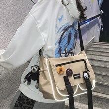 Inclined-Shoulder-Bag Japanese Korean Nylon Girls Waterproof And Unisex Single Harajuku