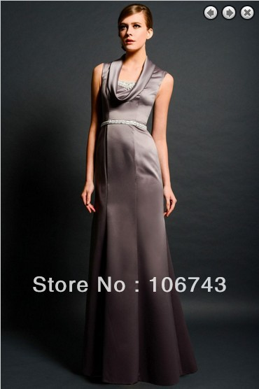 Free Shipping Maxi Elegant 2018 Formal New Fashion Vestidos Formales Long Crystal Beaded Prom Party Gown Bridesmaid Dresses