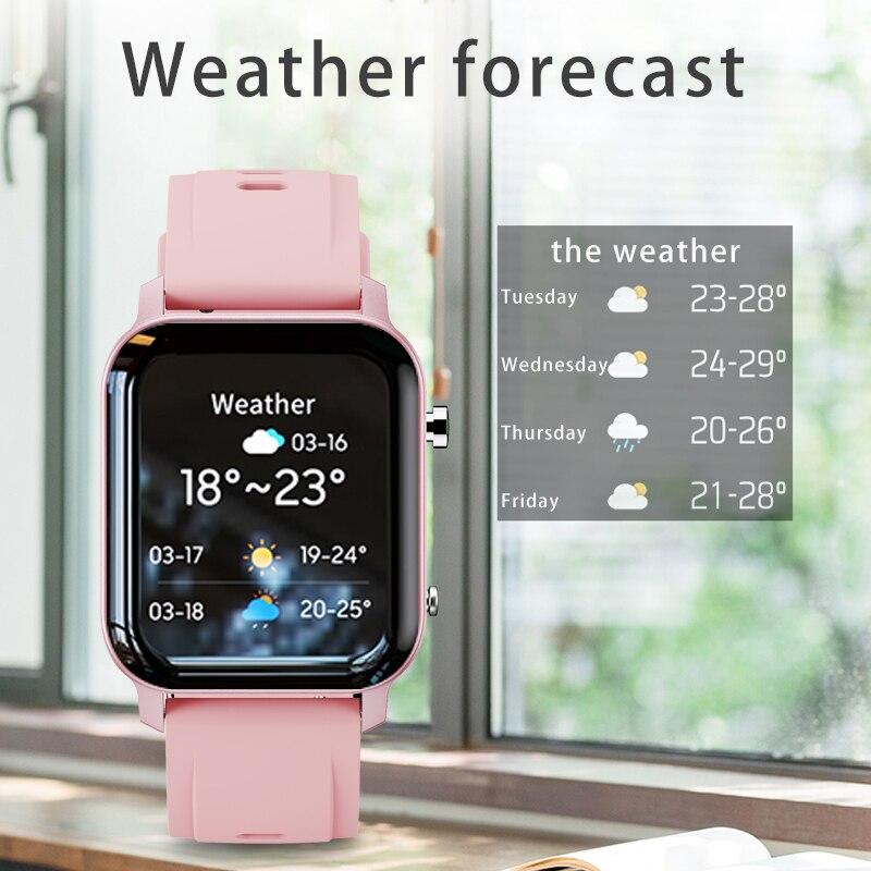 lowest price LIGE Woman Smart Watch Women Fitness Watch Smart Watch Men Waterproof Music Weather Display for Android ios Reloj Inteligente