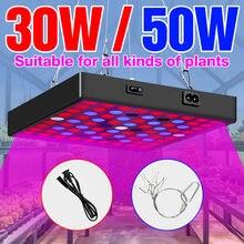 Светильник для выращивания растений 30 Вт 50 светодиодная лампа