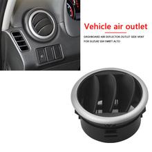 Deska rozdzielcza klimatyzacja deflektor strona wylotowa dla Suzuki SX4 Swift 05-13 tanie tanio CN (pochodzenie) Klimatyzacja montaż Dashboard Air Conditioning Deflector Outlet Side Vent Car Air Vent Side Outlet A C Grille Deflector