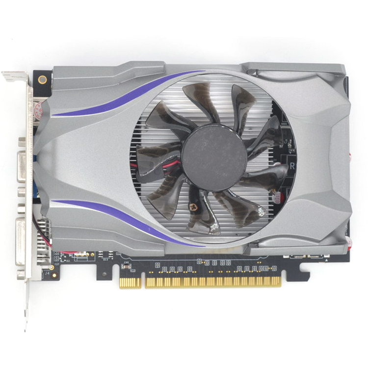 GT730 GDDR5 1GB 128Bit Express Game Video Card Ie Card BTC Mining Video Card with a Cooler Fan for GeForce 1