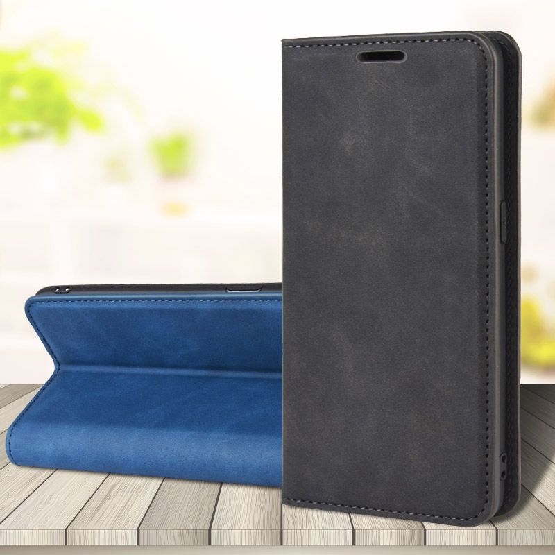 Wallet Phone-Cover Card-Slot-Stand Leather Case Xiaomi Magnetic for X2/f2 Pro Luxury